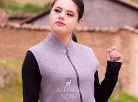 Reversible Alpaca Fabric Sport Vest Women