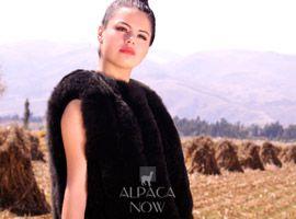 PREMIUM Baby Alpaca Vertical Fur Vest