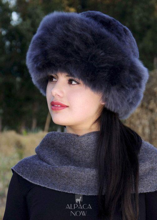 ac6df3b9f PREMIUM Baby Alpaca Fur Hat