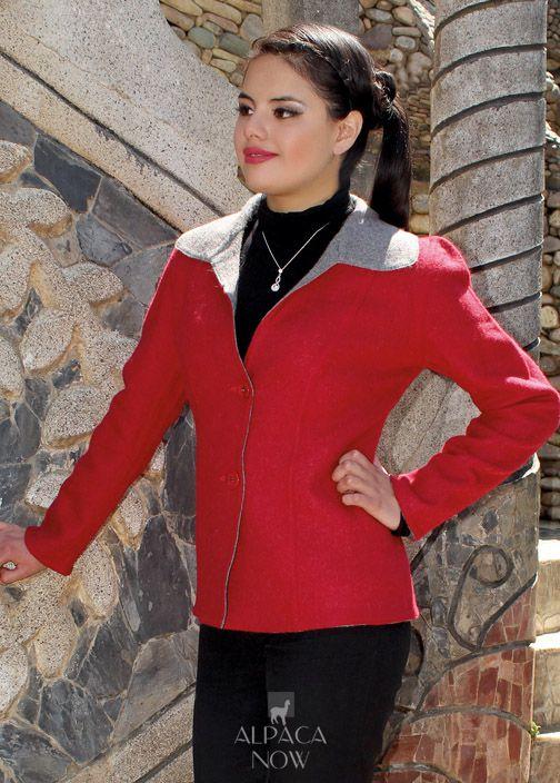 Ladies Reversible Classic Jacket