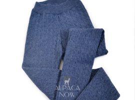 Baby Alpaca Knit Cable Leggings
