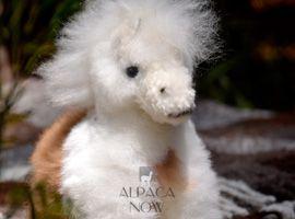 BABY Alpaca Fur - Horse Ornament
