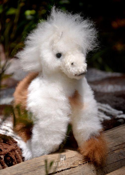 Alpaca Fur - Horse Ornament 12 inches