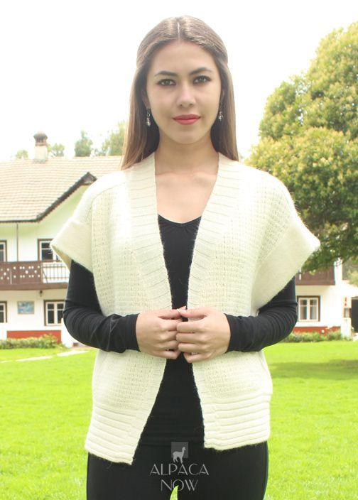 Yadhira Baby Alpaca Vest