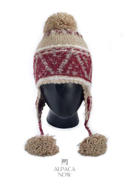 Shipibo Alpaca Boucle Chullo